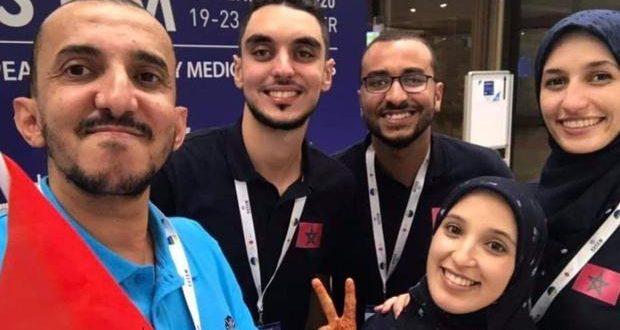 وزير الصحة يستقبل المغاربة المتوجين بالجائزة الأولى للمحاكاة الطبية