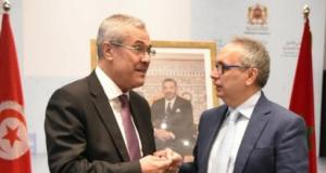 وزير العدل المغربي ونطيره التونسي