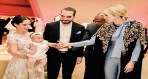ابنة ترامب تتألق مرة أخرى بالزي المغربي بالدوحة
