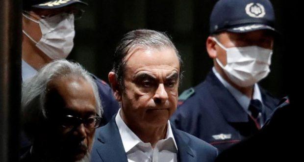 كارلوس غصن يصل إلى لبنان هرويا من الظلم