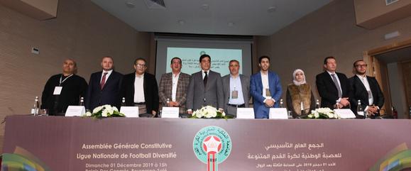 انتخاب طه المنصوري رئيسا للعصبة الوطنية لكرة القدم المتنوعة