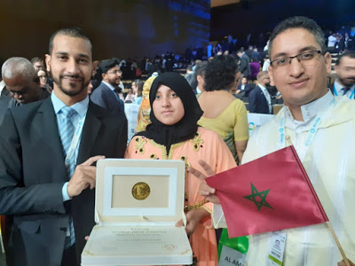تتويج ثانوية الأمل بالرحامنة بجائزة الشيخ زايد للاستدامة 2020