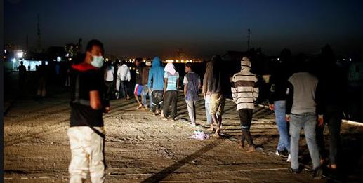 صورة الداخلة : توقيف 25 مرشحا للهجرة السرية ينحدرون من إفريقيا جنوب الصحراء