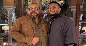 صورة الملك محمد السادس رفقة الممثل المصري محمد رمضان تلهب الانستغرام