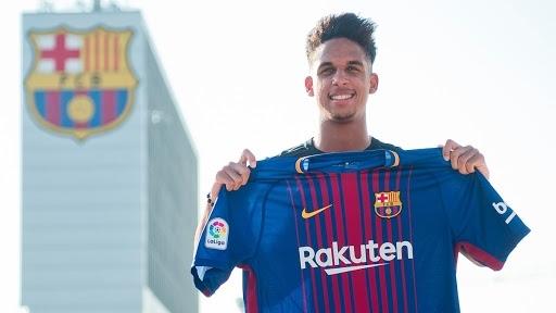 """صورة اصابة لاعب فريق برشلونة """"فيرنانديز"""" بفيروس كورونا"""
