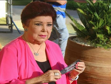 صورة إصابة الممثلة المصرية رجاء الجداوي بفيروس كورونا
