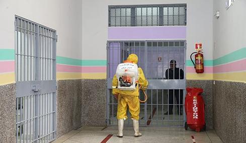 صورة عدم تسجيل أية إصابة جديدة بكورونا في 75 مؤسسة سجنية من أصل 76