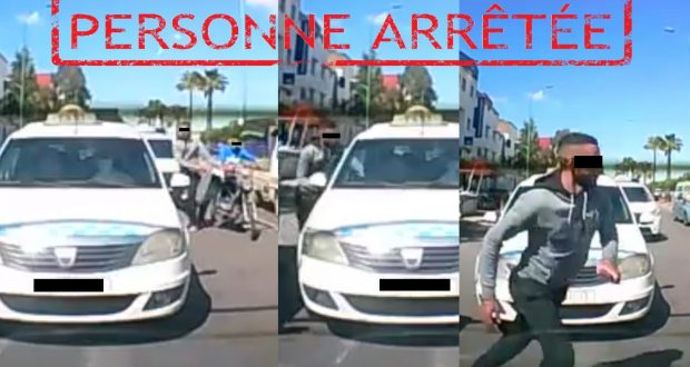 أمن مولاي رشيد يوقف لصا ظهر في شريط ڤيديو متلبسا بالسرقة