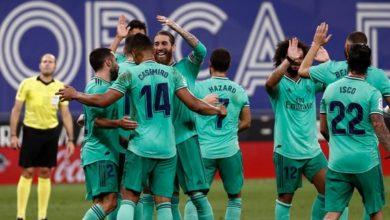 صورة ريال مدريد يستقر على خليفة راموس