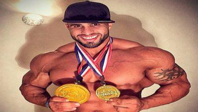 صورة عبد العزيز جلالي من حي شعبي لبطل دولي محترف في رياضة بناء الأجسام