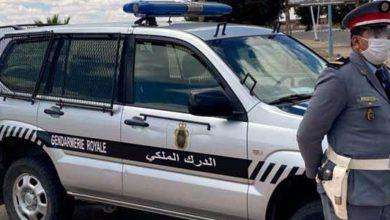 صورة سرقة سيارة لنقل البضائع يثير استنفار الدرك بالحاجب