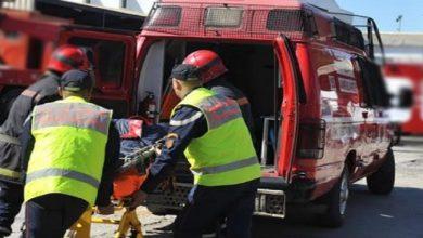 صورة مفجع.. سقوط عامل بناء من أعلى بناية في طنجة