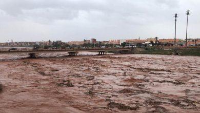 صورة أمطار طوفانية بتارودانت تتسبب في فيضان واد سوس