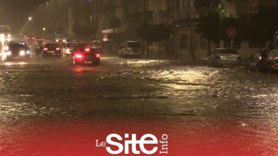 صورة ساعات من التساقطات المطرية تغرق شوارع وأزقة الدار البيضاء-فيديو