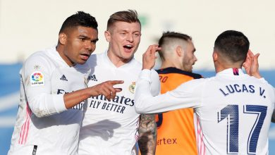 صورة نجم ريال مدريد يطمئن الجماهير حول إصابته