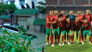 """صورة فاجعة طنجة تنسي المغاربة فرحة فوز المنتخب المحلي بـ """"الشان"""""""