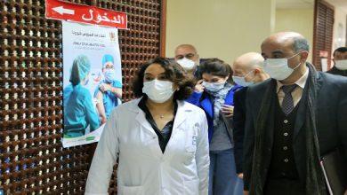 صورة لجنة علمية تطلع على سير الحملة الوطنية للتلقيح بطنجة-تطوان-الحسيمة