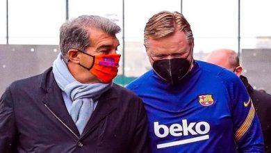 """صورة في انتظار إعلان الصفقة.. برشلونة يتوصل لاتفاق مع مهاجم """"بارز"""""""