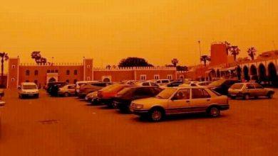 صورة تحول لون سماء سوس إلى البرتقالي.. الأرصاد الجوية توضح