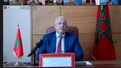 صورة حوار برلماني حول الأمن الغذائي.. نائب رئيس مجلس النواب يستعرض التجربة المغربية في مجال تدبير كورونا