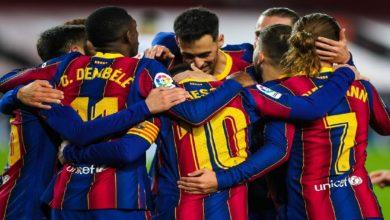 """صورة بعد التعادل مع ليفانتي.. نجم برشلونة يؤكد إمكانية تحقيق برشلونة للقب """"الليغا"""""""
