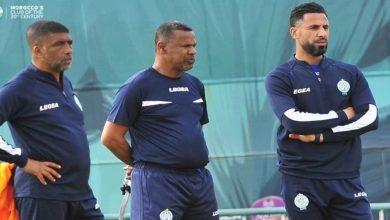 صورة الشابي يفاجئ لاعبي الرجاء قبل موقعة المغرب التطواني