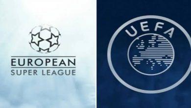 """صورة رئيس """"اليويفا"""" يعلن حرمان لاعبي أندية الـ""""سوبر ليغ"""" من المشاركة في """"اليورو"""" والمونديال"""""""