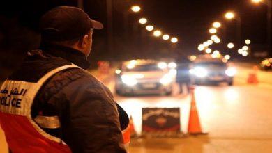 صورة سدود أمنية مكثفة واجراءات صارمة.. سلطات البيضاء تشن حملات ضد مخالفي حظر التنقل الليلي