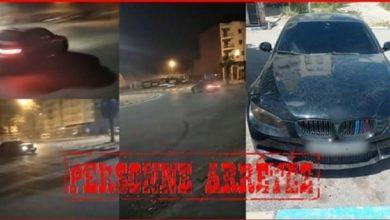 """صورة فيديو يظهر شابا يسوق سيارته بطريقة استعراضية وخطيرة وسط """"كازا"""" يستنفر أمن البيضاء"""