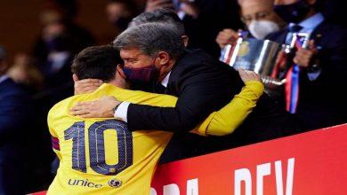 صورة لابورتا يكشف رغبة ميسي الخاصة بمصيره مع برشلونة