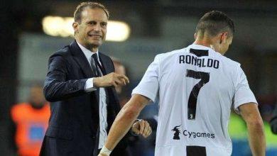 صورة أليغري يكلف رونالدو بمهمة جديدة في يوفنتوس