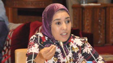 صورة أمينة ماء العينين تتفاعل مع الاعتداء الإسرائيلي على الفلسطينيين