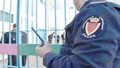 صورة اتخاذ مجموعة من الإجراءات من أجل تحصين السجون المغربية والتصدي لانتشار وباء كورونا