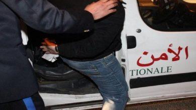 صورة السرقة تطيح بمواطنين من جنوب الصحراء في قبضة أمن البيضاء