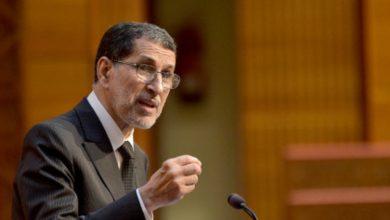 صورة العثماني في جلسة مساءلة أمام مجلس النواب حول الحماية الاجتماعية للمغاربة