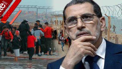 """صورة بعد """"الهجرة الجماعية"""" نحو سبتة.. حزب سياسي يجرّ رئيس الحكومة إلى المساءلة"""