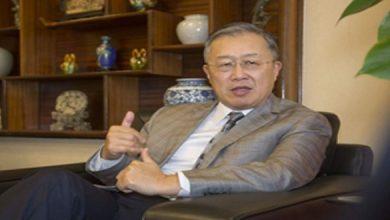 صورة توشيح السفير السابق للصين لدى المغرب بوسام ملكي
