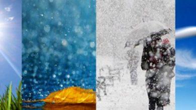 صورة توقعات مديرية الأرصاد لطقس يوم غد الأربعاء