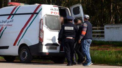 """صورة شبهة """"التهجير السري"""" توقع بشخصين في قبضة الشرطة ضواحي أكادير"""