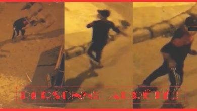 صورة ظهر في مقطع فيديو يثير الفوضى.. أمن آسفي يعتقل شابا في حالة سكر طافح