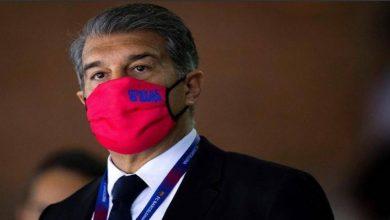 صورة لابورتا يطلق جرس الإنذار بسبب وضع برشلونة الاقتصادي