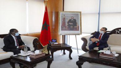 صورة العثماني يستقبل رئيس المجلس الاقتصادي والاجتماعي والبيئي والثقافي بكوت ديفوار