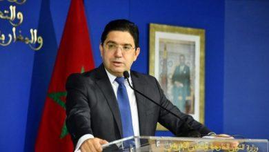 صورة المغرب سيقف دائما إلى جانب المؤسسات الشرعية الليبية