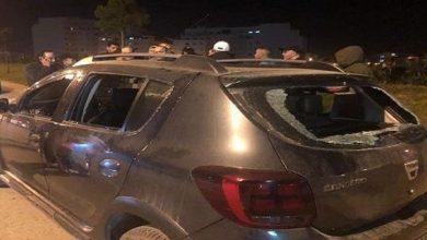صورة تكسير 8 سيارات وإحداث الفوضى يقود شخصا للاعتقال بالبيضاء