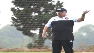 صورة فاخر يشرف على أولى حصصه التدريبية في المحمدية -فيديو