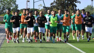 صورة في غياب لاعبي البطولة.. المنتخب المغربي يخوض ثالث حصصه التدريبية