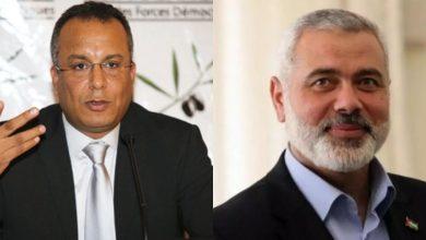 صورة كنا نود لقاء وفد حماس لمعرفة موقفهم من قضية الصحراء المغربية