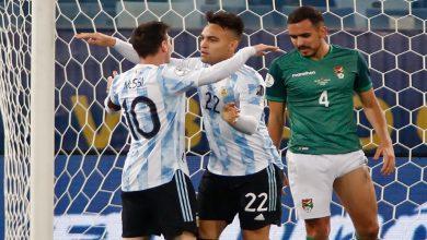 """صورة """"كوبا أمريكا"""".. ميسي يقود الأرجنتين للانتصار على بوليفيا برباعية- فيديو"""