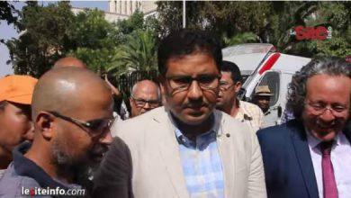 صورة محاكمة حامي الدين..دفاع آيت الجيد يكشف قرار المحكمة والشيخي: شهدنا مهزلة جديدة -فيديو