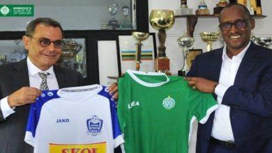 صورة الرجاء يوقع اتفاقية شراكة مع فريق رواندي